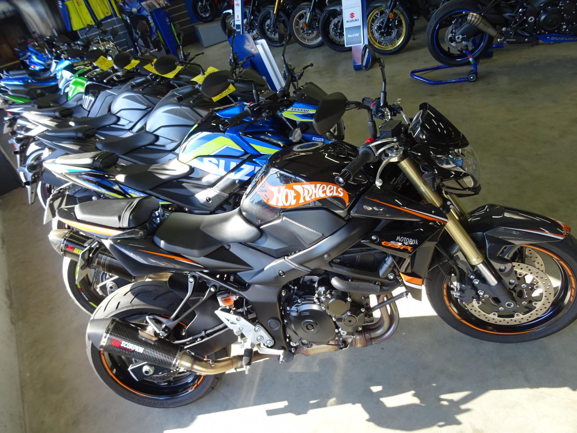 Annonce moto Suzuki GSR 750 HotWheels