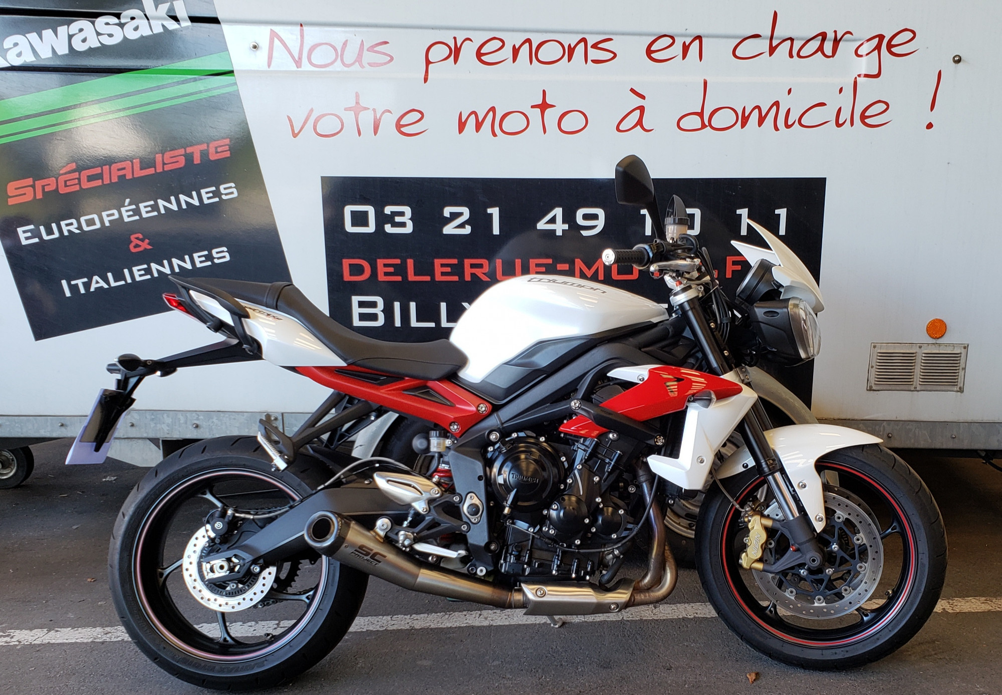 Annonce moto Triumph SPEED TRIPLE