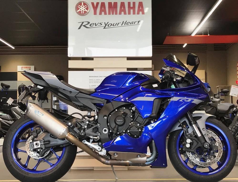 photo de YAMAHA YZF 1000 R1 CROSS PLANE 1000 occasion de couleur  en vente �  Vesoul