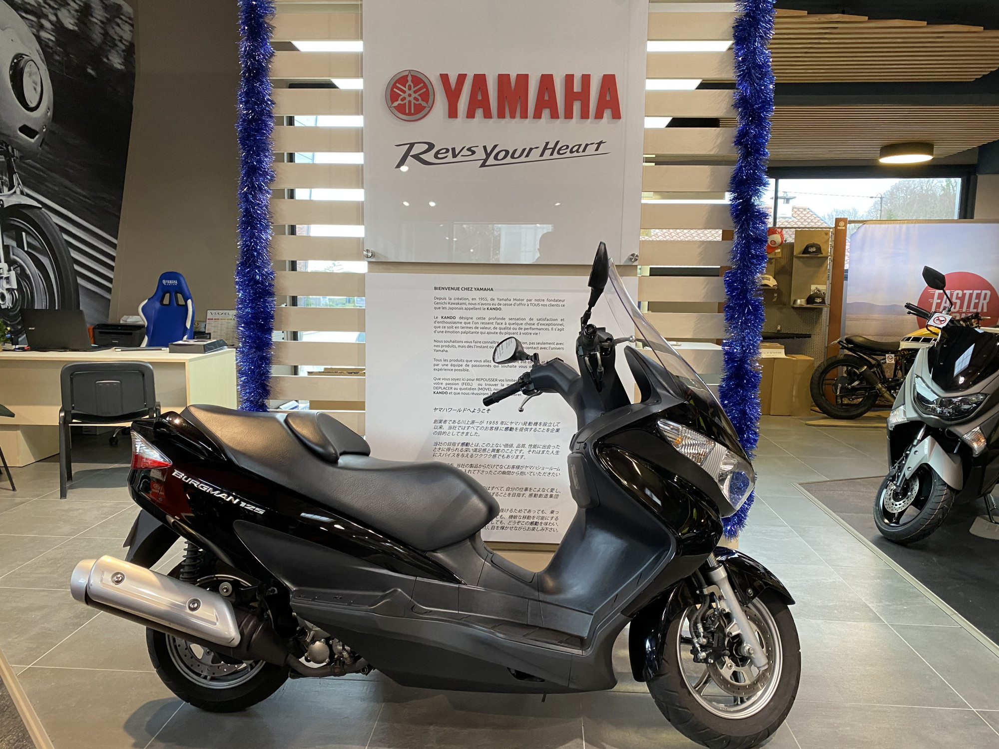 photo de SUZUKI BURGMAN 125 occasion de couleur  en vente �  Anglet