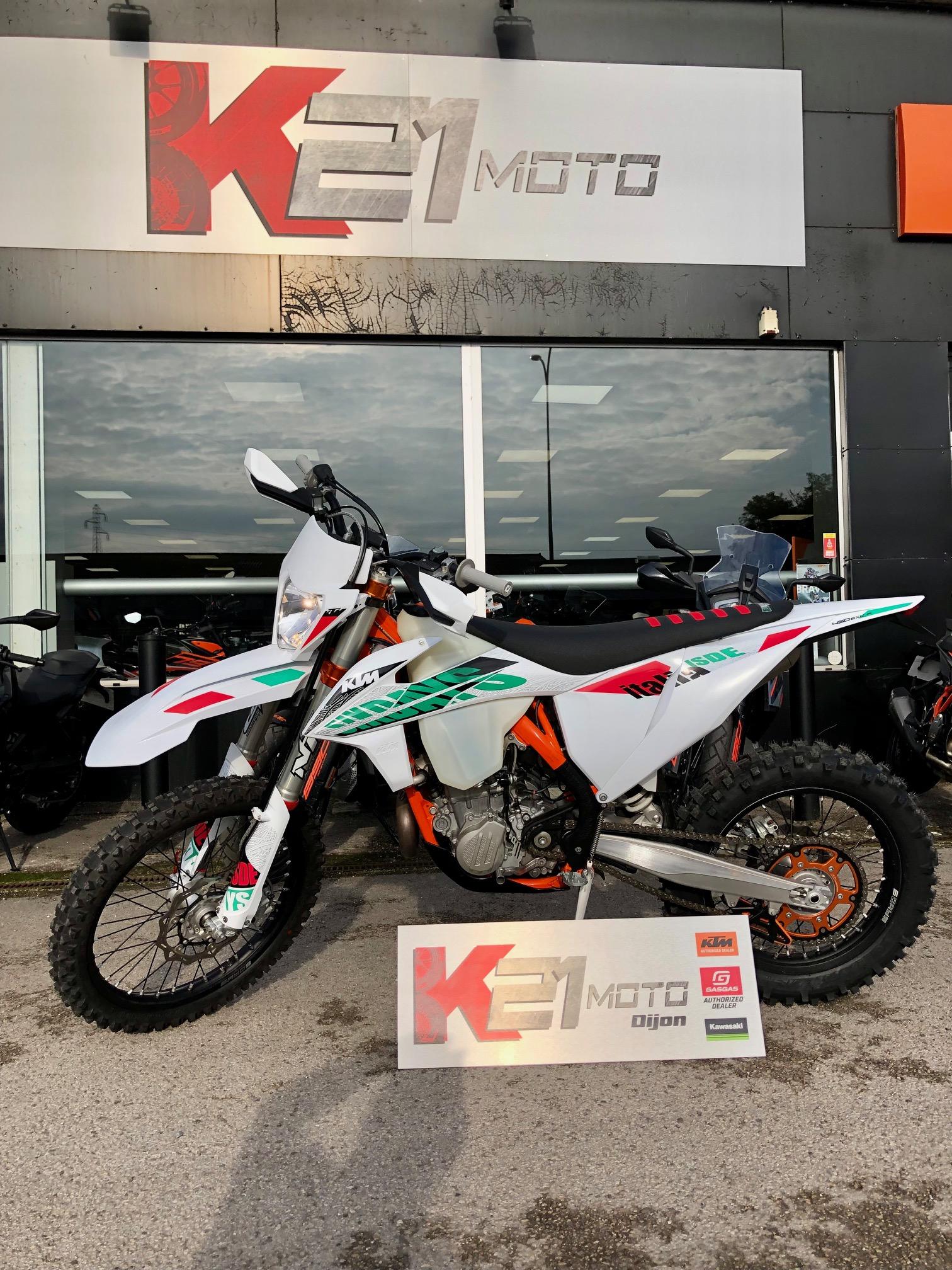 photo de KTM EXC-F 450 occasion de couleur  en vente �  Chenove