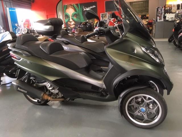 photo de PIAGGIO MP3 500 ABS-ASR 500 occasion de couleur  en vente �  Le Mans
